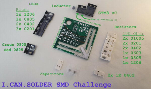 I.CAN.SOLDER Challenge